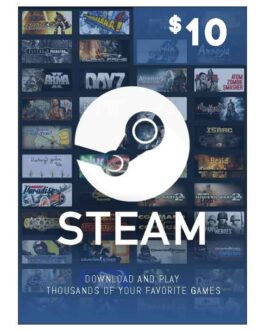 10$ – Steam Wallet Code