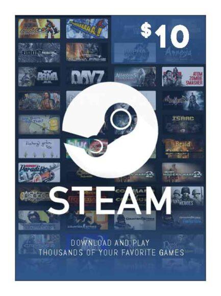 Steam Wallet 10