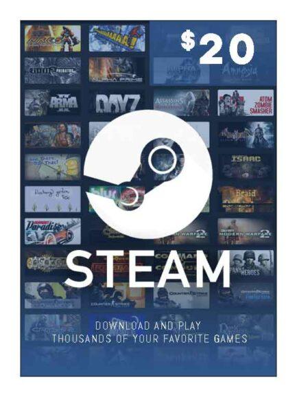Steam Wallet 20