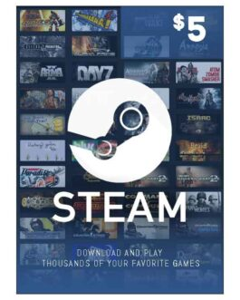 5$ – Steam Wallet Code