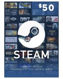 Steam Wallet 50