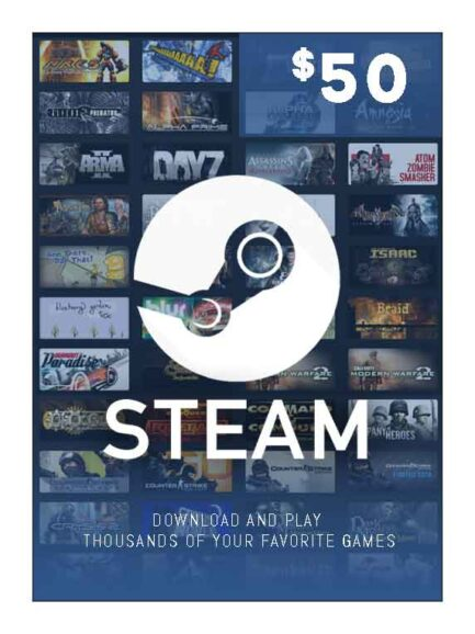 Steam Wallet 50