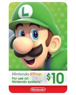 10$ – Nintendo eShop Code