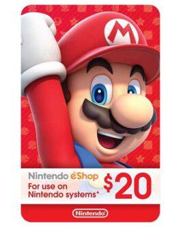 20$ – Nintendo eShop Code