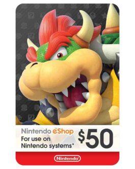 50$ – Nintendo eShop Code