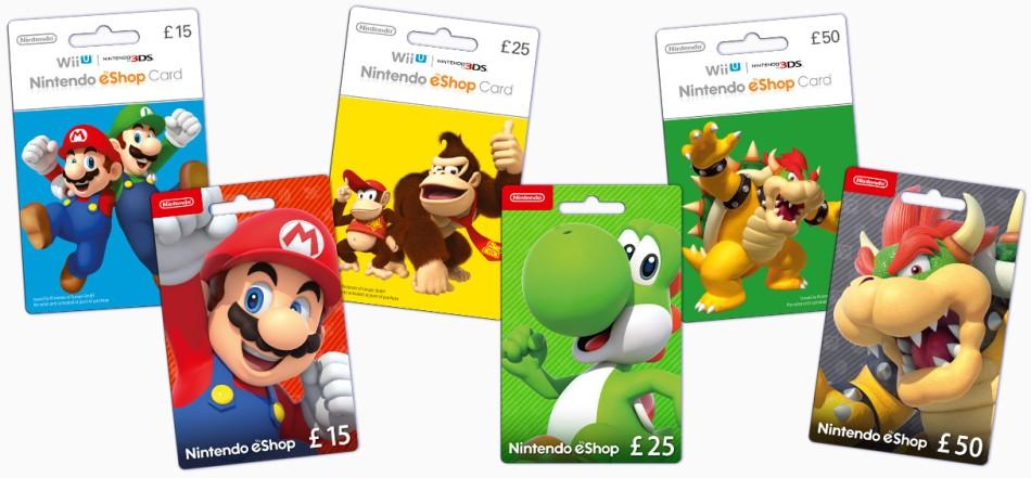 Nintendo eshop card là gì?