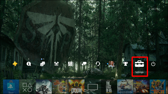 PlayStation 4 Settings