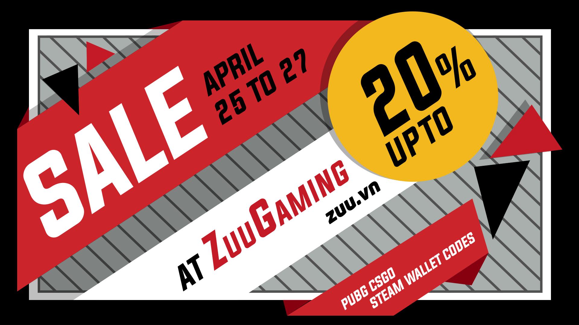 zuu.vn-sale-pubg-csgo-steam-wallet-code
