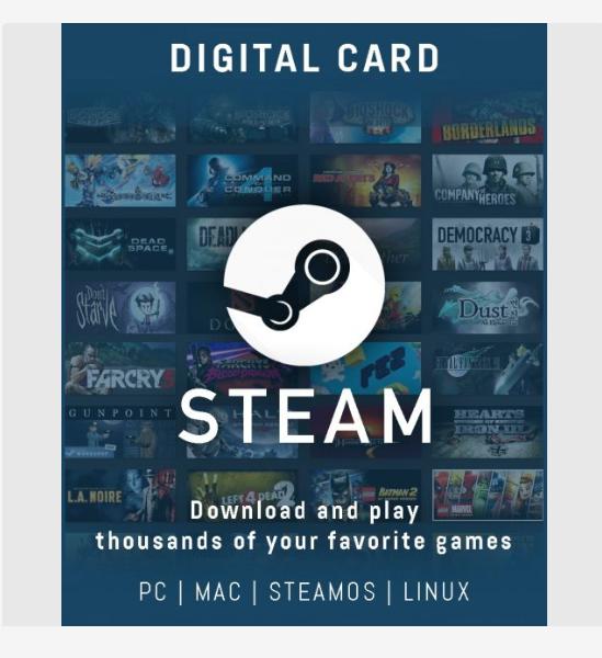 Hướng dẫn mua Steam Wallet COD giao hàng tận nhà