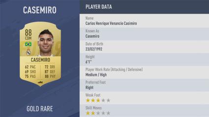 Casemiro-game fifa 19