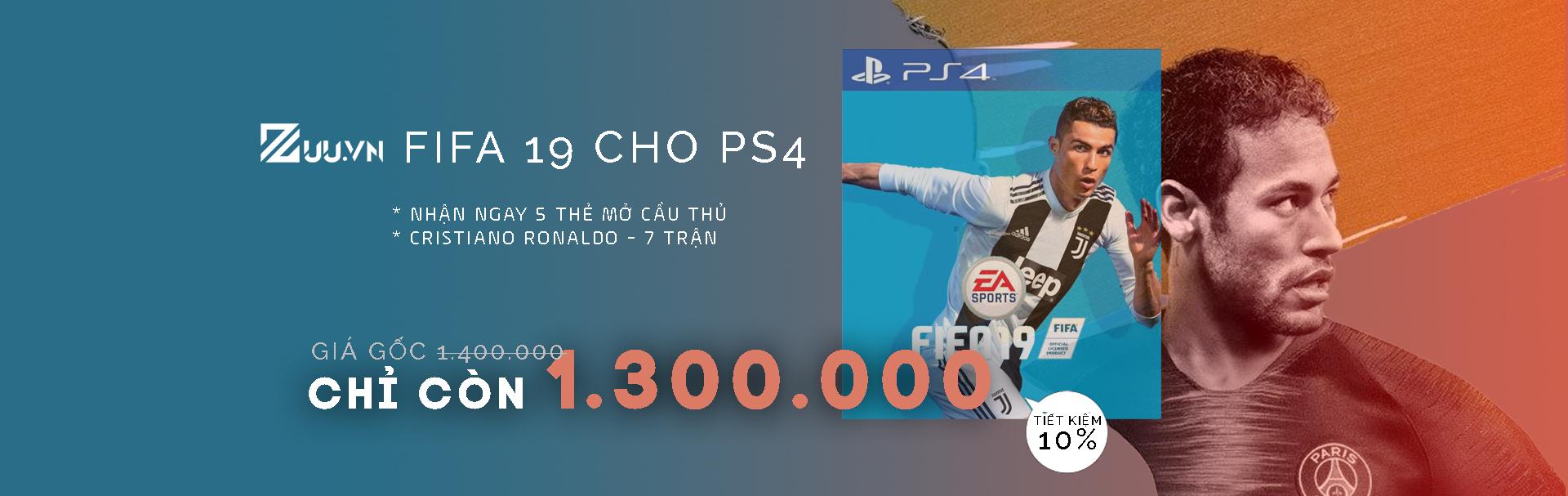 Đĩa game FIFA 19