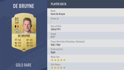 Kevin-De-Bruyne fifa 19