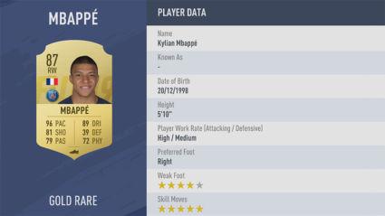 Kylian-Mbappé-trong fifa 19