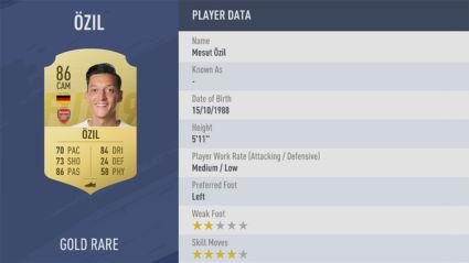 Mesut-Özil-fifa 19 pc