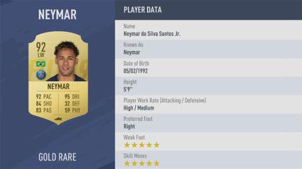Neymar-Jr fifa 19