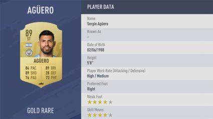 Sergio-Agüero-fifa 19