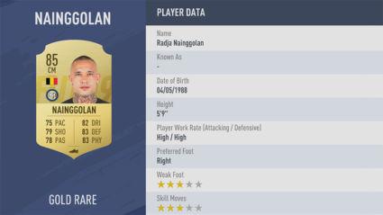 cầu thủ fifa 19 Radja-Nainggolan