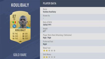 chi so Kalidou-Koulibaly-trong fifa