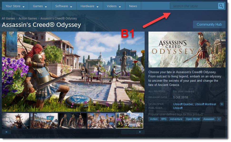 download odyssey b1