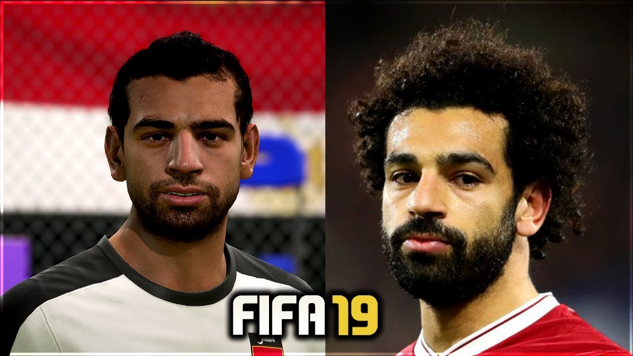 mặt cầu thủ fifa 19