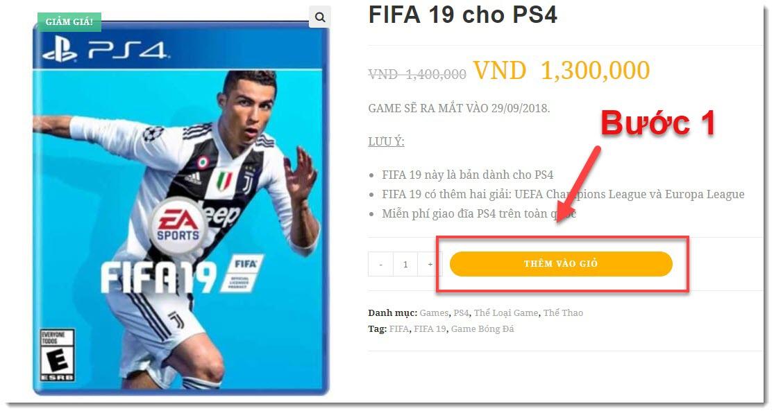 mua đĩa fifa 19 PS4 tại zuu.vn