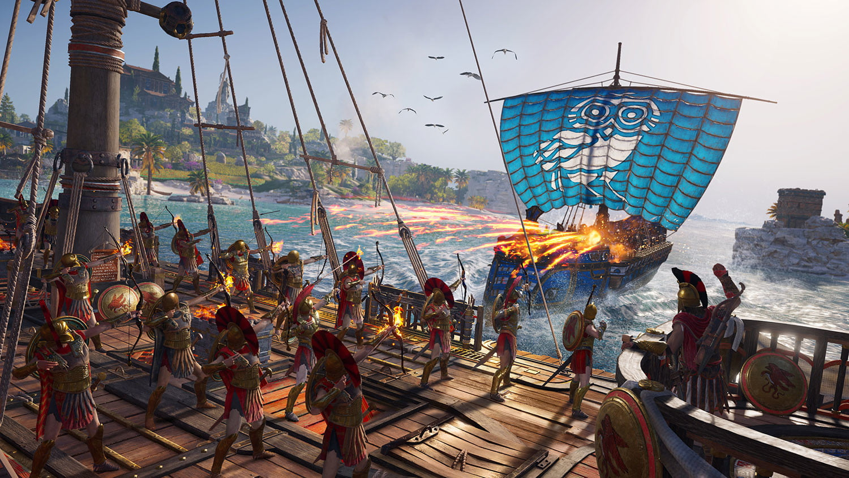 trận Peloponnesus trong AC odyssey
