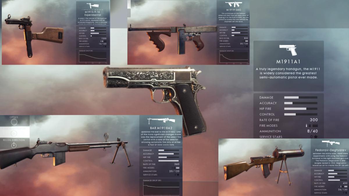 súng mới trong battlefield 5