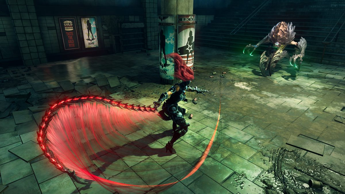 Nhân vật trong gameplay darksiders 3