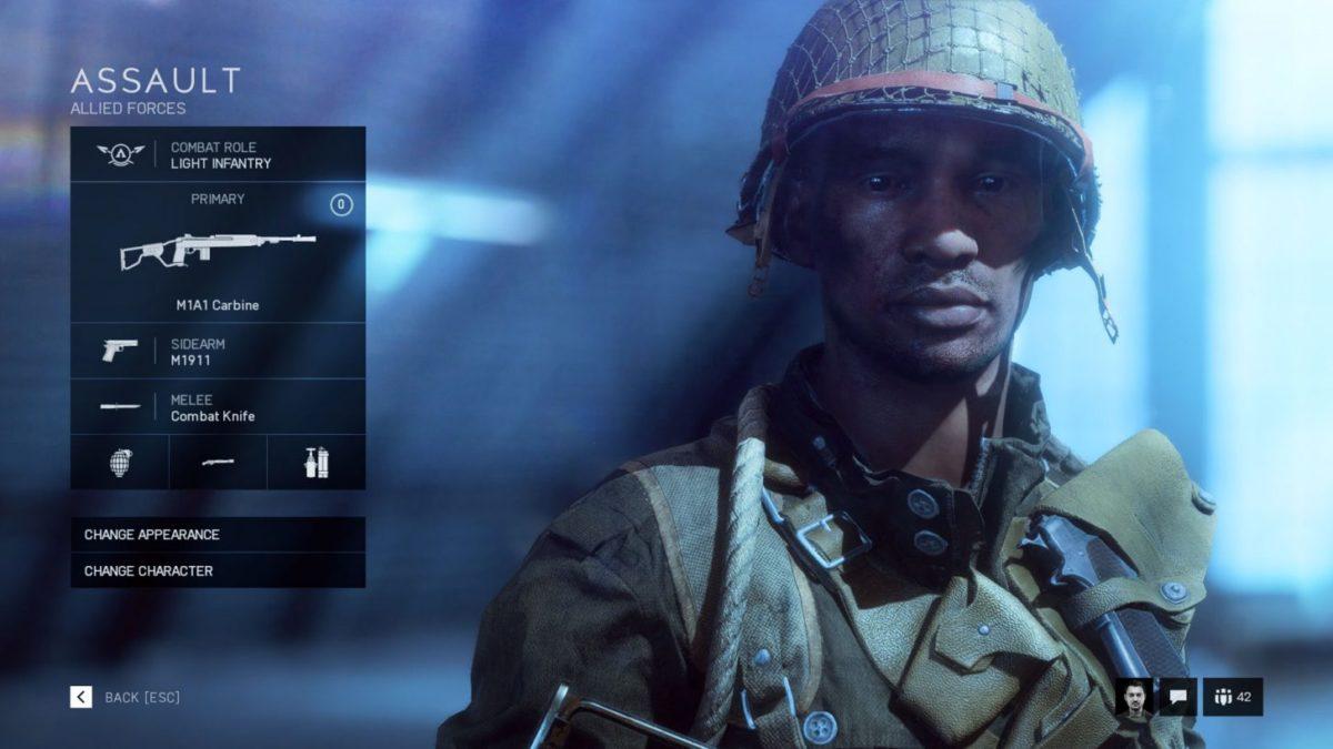 assault class trong battlefield 5