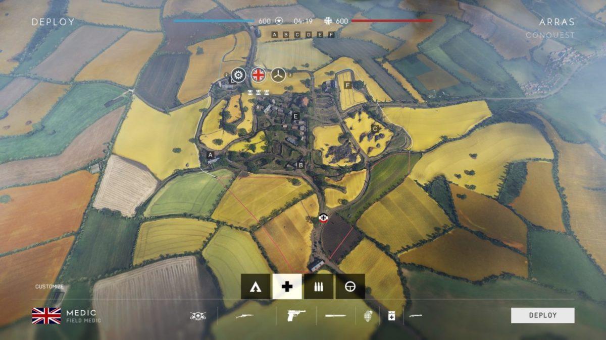 bản đồ arras trong battlefield 5