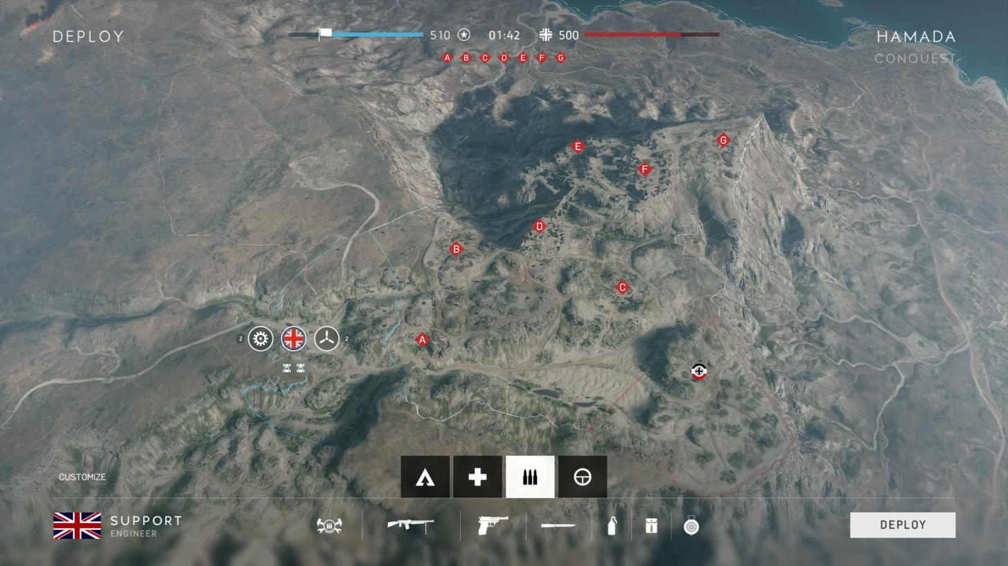 Battlefield V: dạo chơi một vòng quanh bản đồ Hamada