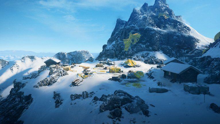 battlefield 5 - bản đồ Fjell 652