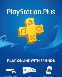 Thẻ PlayStation Plus 3 Tháng (US)