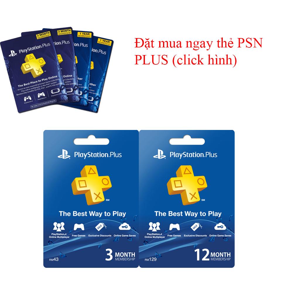mua thẻ PSN plus