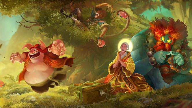 Unruly Heroes – Mô Phật, bần tăng chưa ngán ai bao giờ
