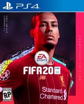 FIFA 20 ban Champions edition Virgil van Dijk