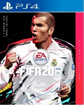 FIFA 20 ban Ultimate edition Edition Zinedine Zidane