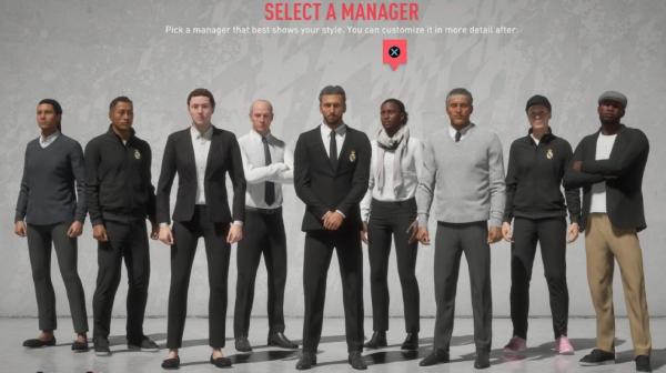 Rất nhiều lựa chọn HLV mới trong FIFA 20