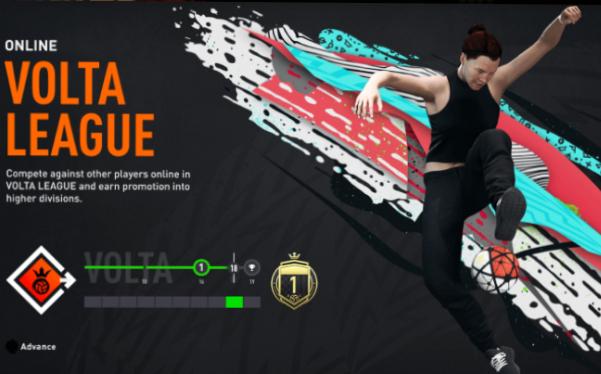Online Volta -thi đấu bóng đá đường phố online torng FIFA 20