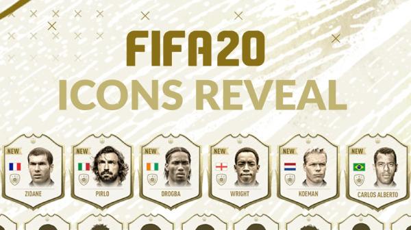 Cầu thủ huyền thoại mới trong FIFA 20