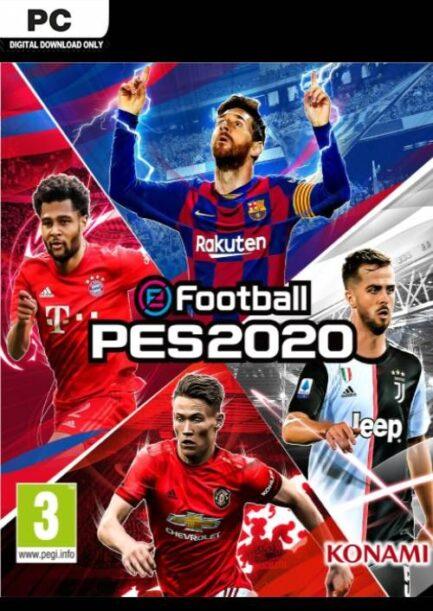 efootball PES 2020 key game
