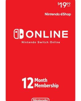 Thẻ Nintendo Switch Online 12 Tháng