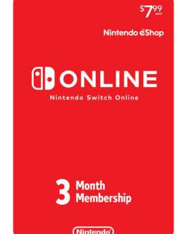 Thẻ Nintendo Switch Online 3 Tháng